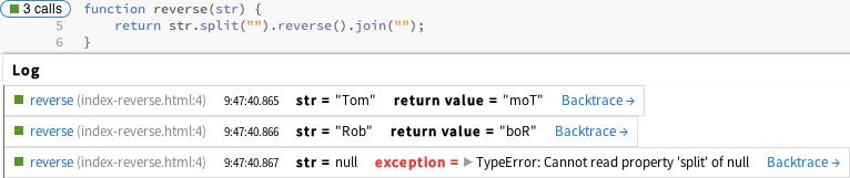 监控函数的输入/输出值、异常