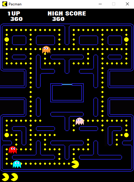 Get Pac Man Game Over Screen Gif