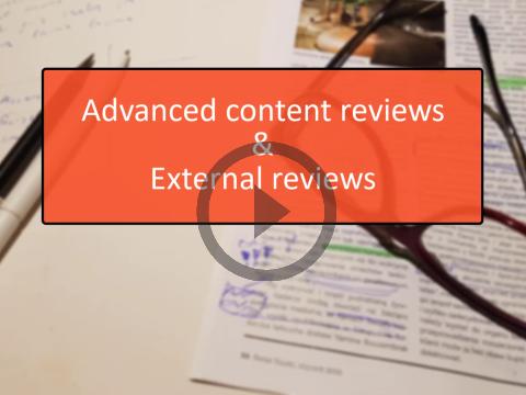 Advanced Reviews
