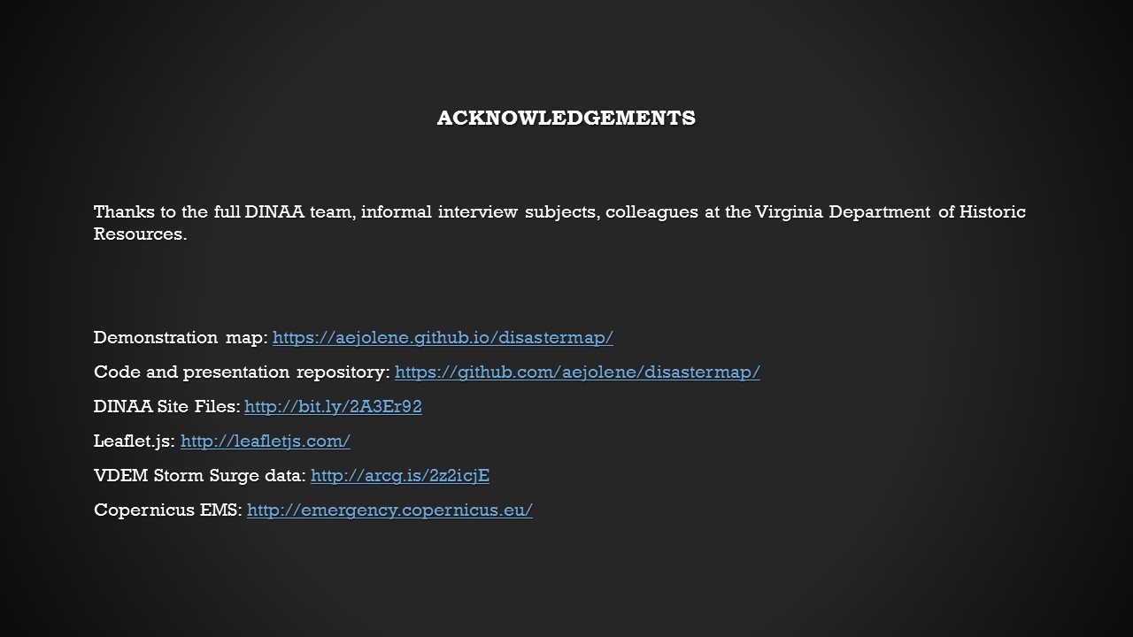 acknowledgments and links