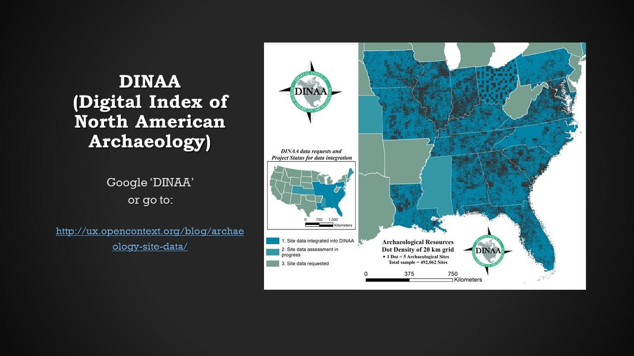 DINAA map