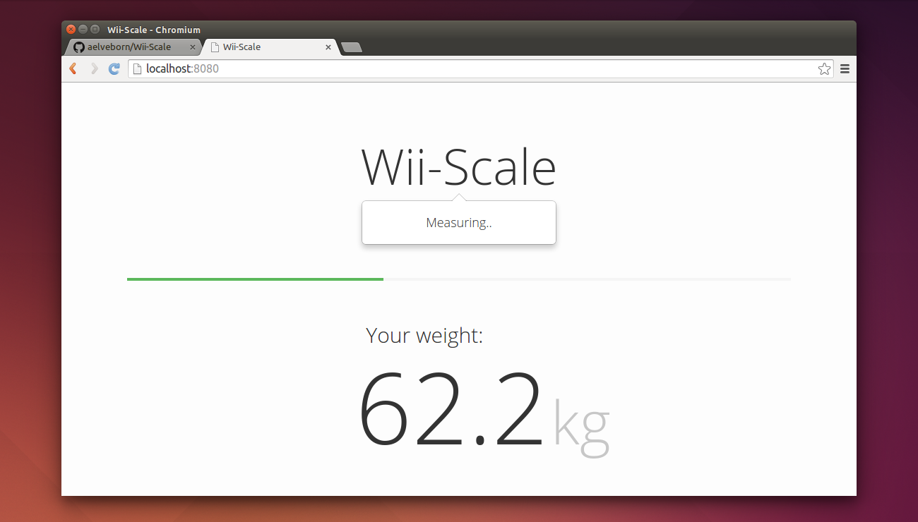 Wii-Scale