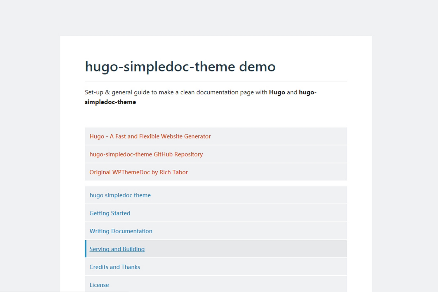 hugo-simpledoc-theme screenshot