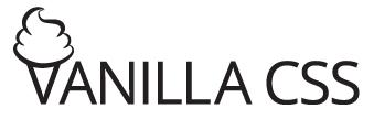 vanilla css logo
