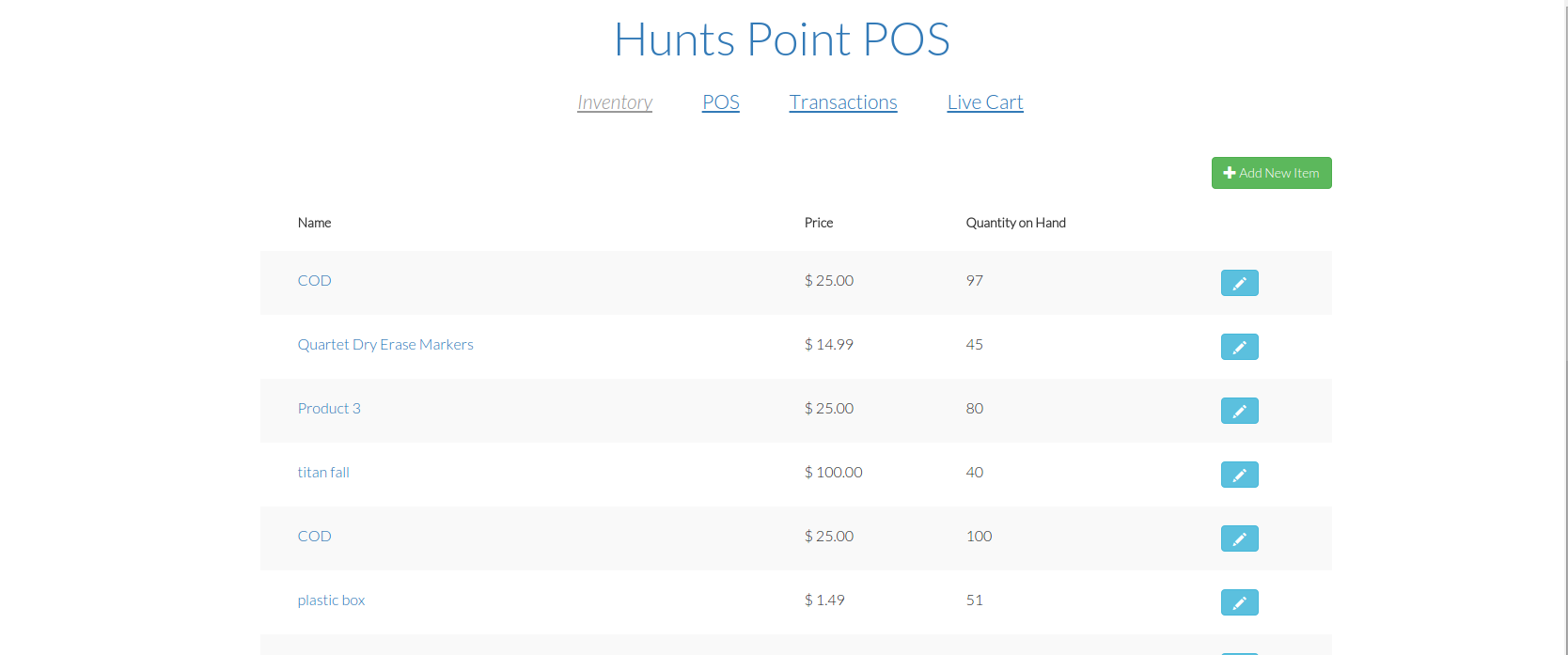 GitHub - afaqurk/hunts-point-pos: A real-time, simple web