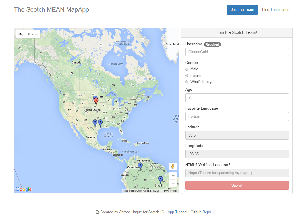 Github scotch iomean google maps app demonstrating mean mongo appimage baditri Image collections