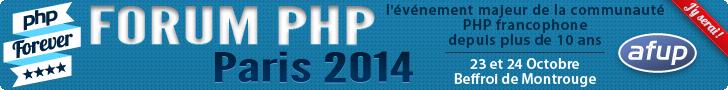 forum PHP 2014 : j'y serais