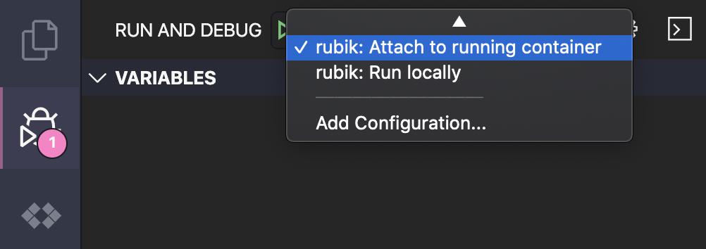 Run debugger