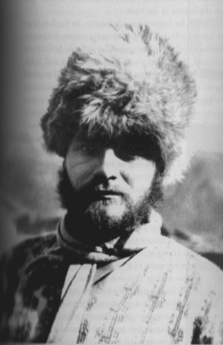 Ernst Schaefer, leader of the 1939 expedition. When the expedition began Schaefer's wife had been dead just six weeks. Schaefer, an expert marksman, claimed that he had shot her accidentally while hunting wild boar. Courtesy of Alex McKay