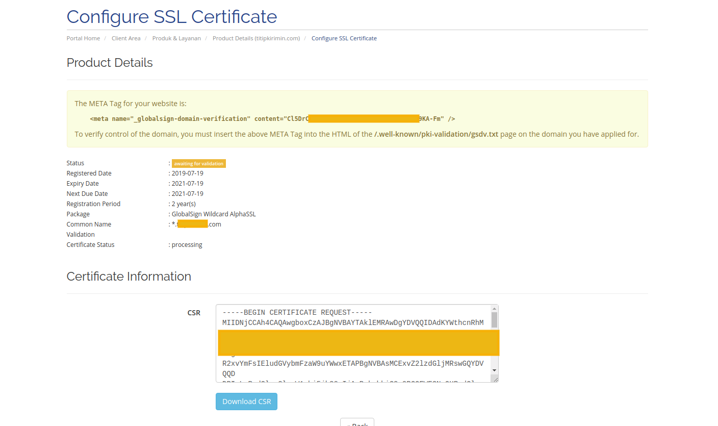ssl validation