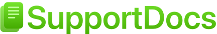 SupportDocs Logo