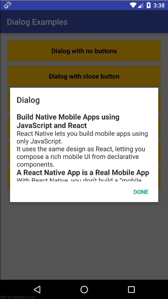 react-native-md-dialog - npm