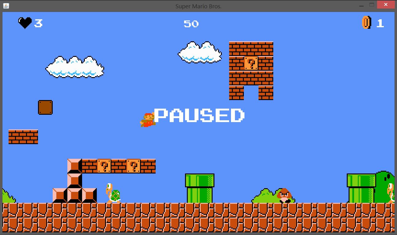 GitHub - ahmetcandiroglu/Super-Mario-Bros: Classic Super Mario Bros