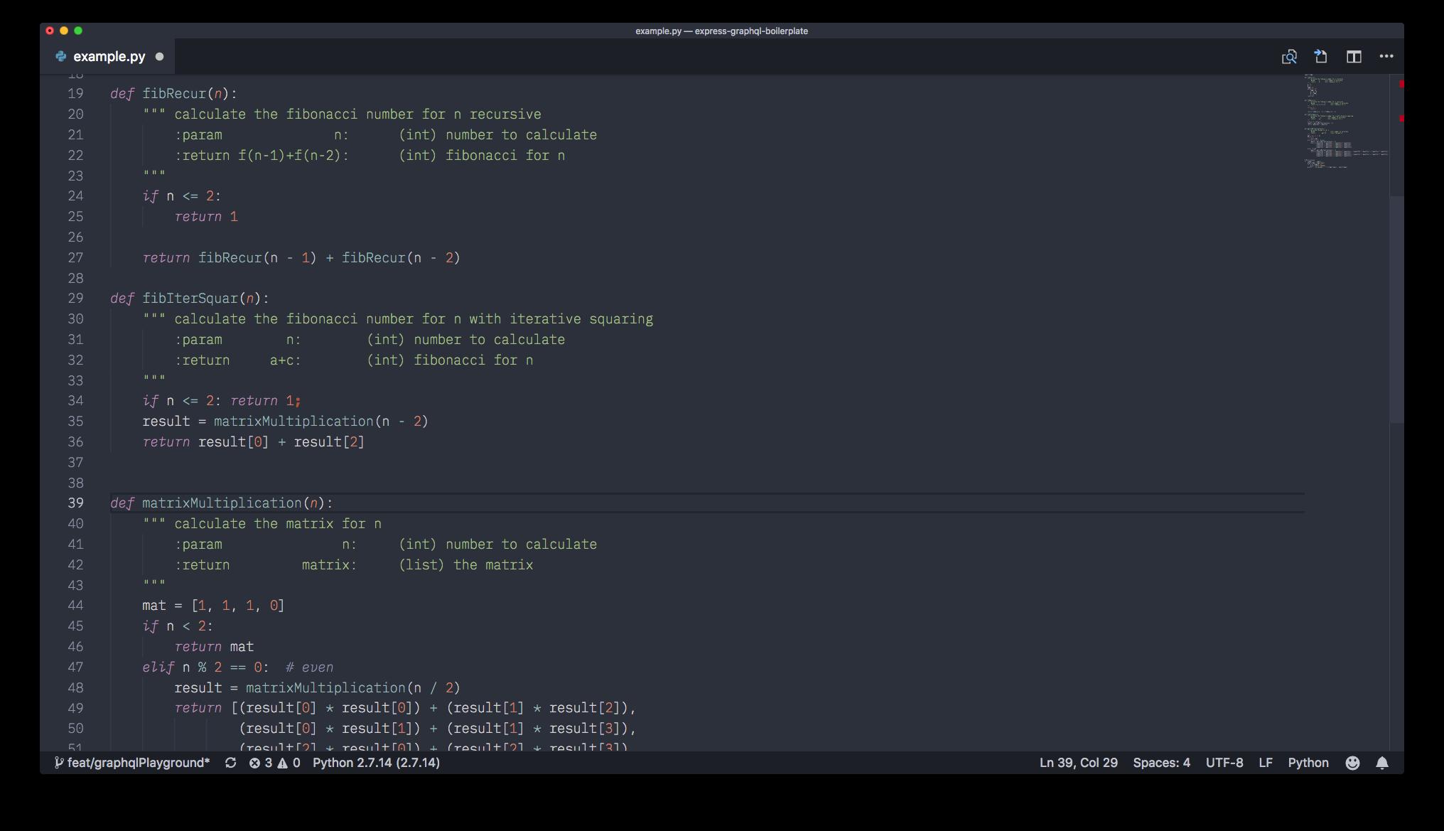 Python demo