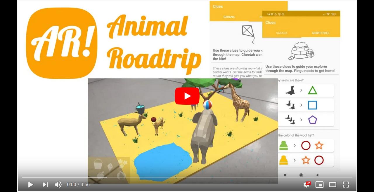 Animal Roadtrip trailer