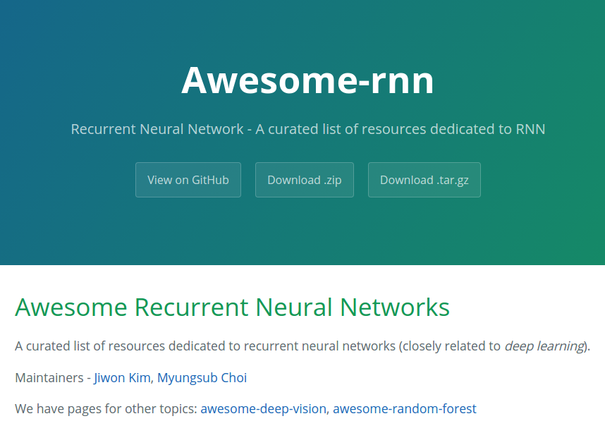 awesome-rnn-main