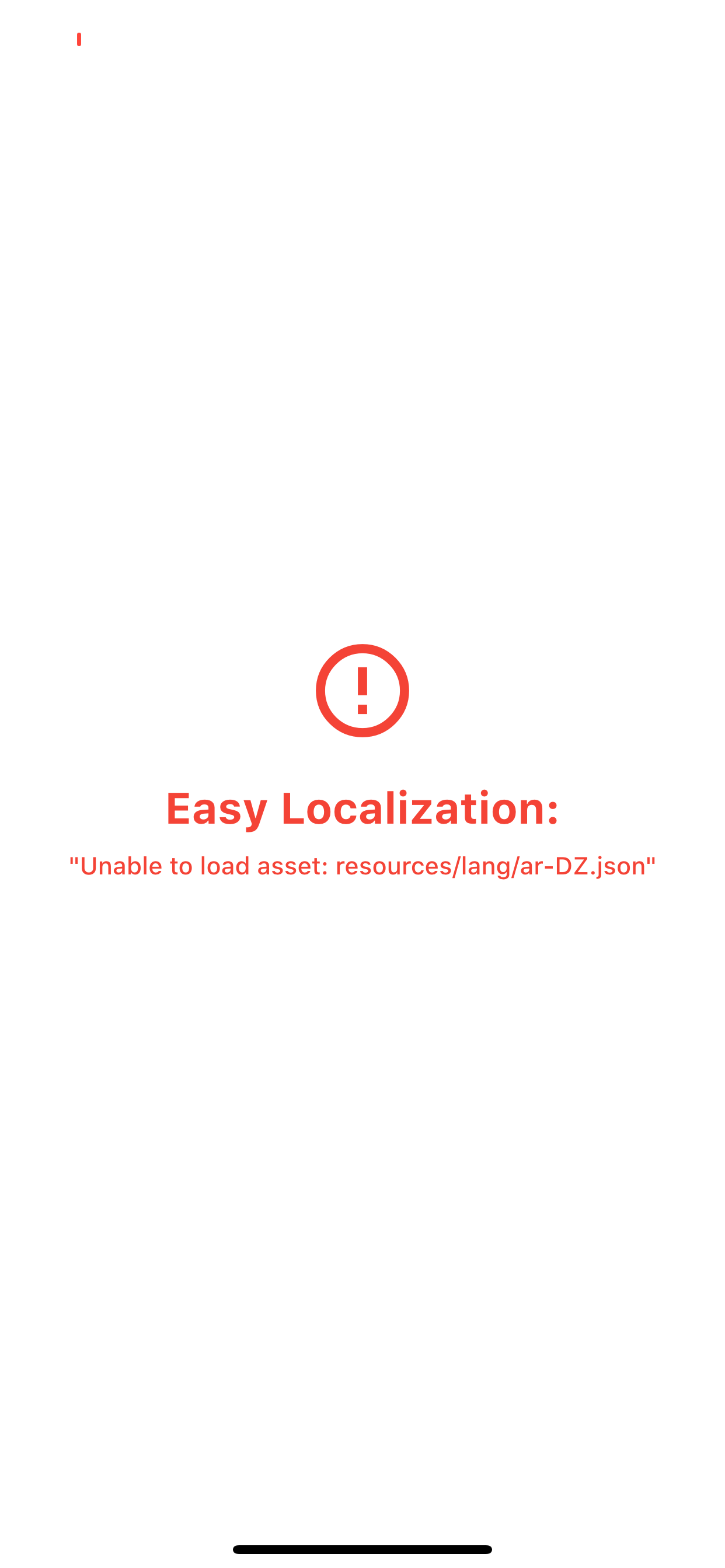 Flutter Easy Localization