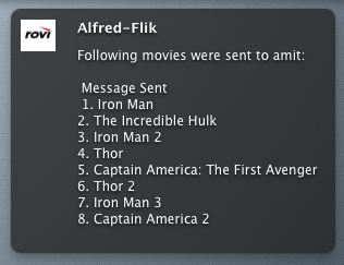 Alfred Growl Notification