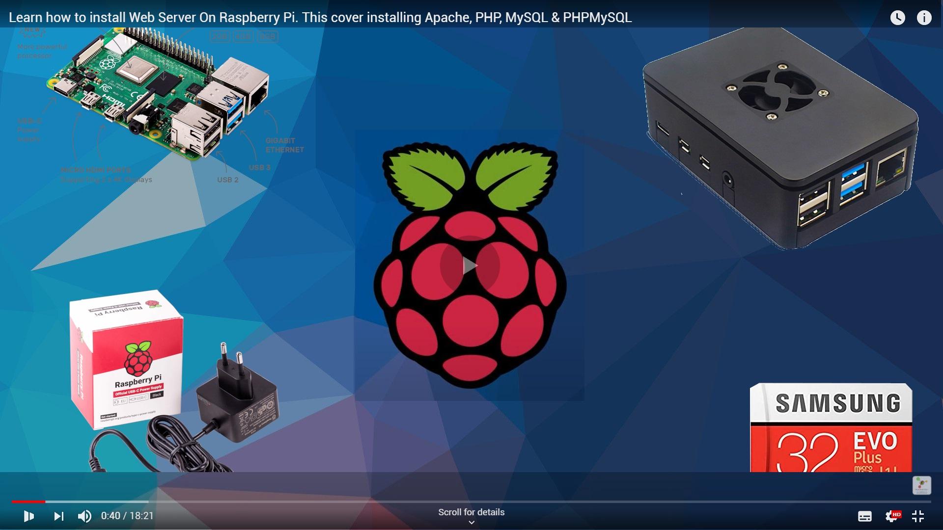 Learn How To Install Web Server On Raspberry Pi This Cover Installing Apache Php Mysql Phpmysql Github