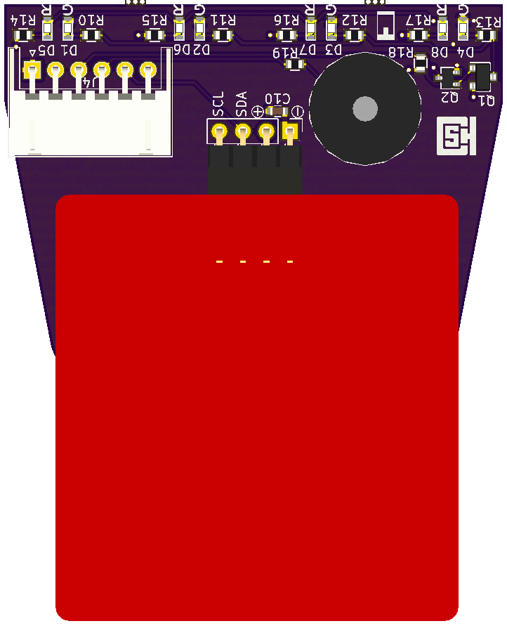Version 1.1 of the NFC Reader PCB.