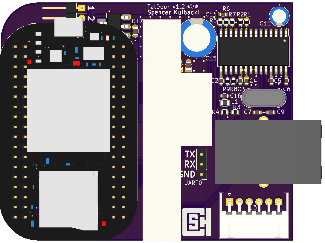 Version 1.1 of the Main Board PCB.