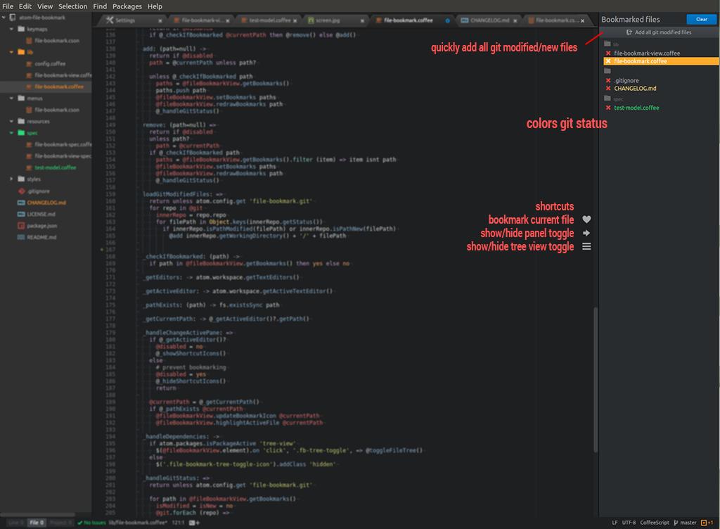file-bookmark screenshot