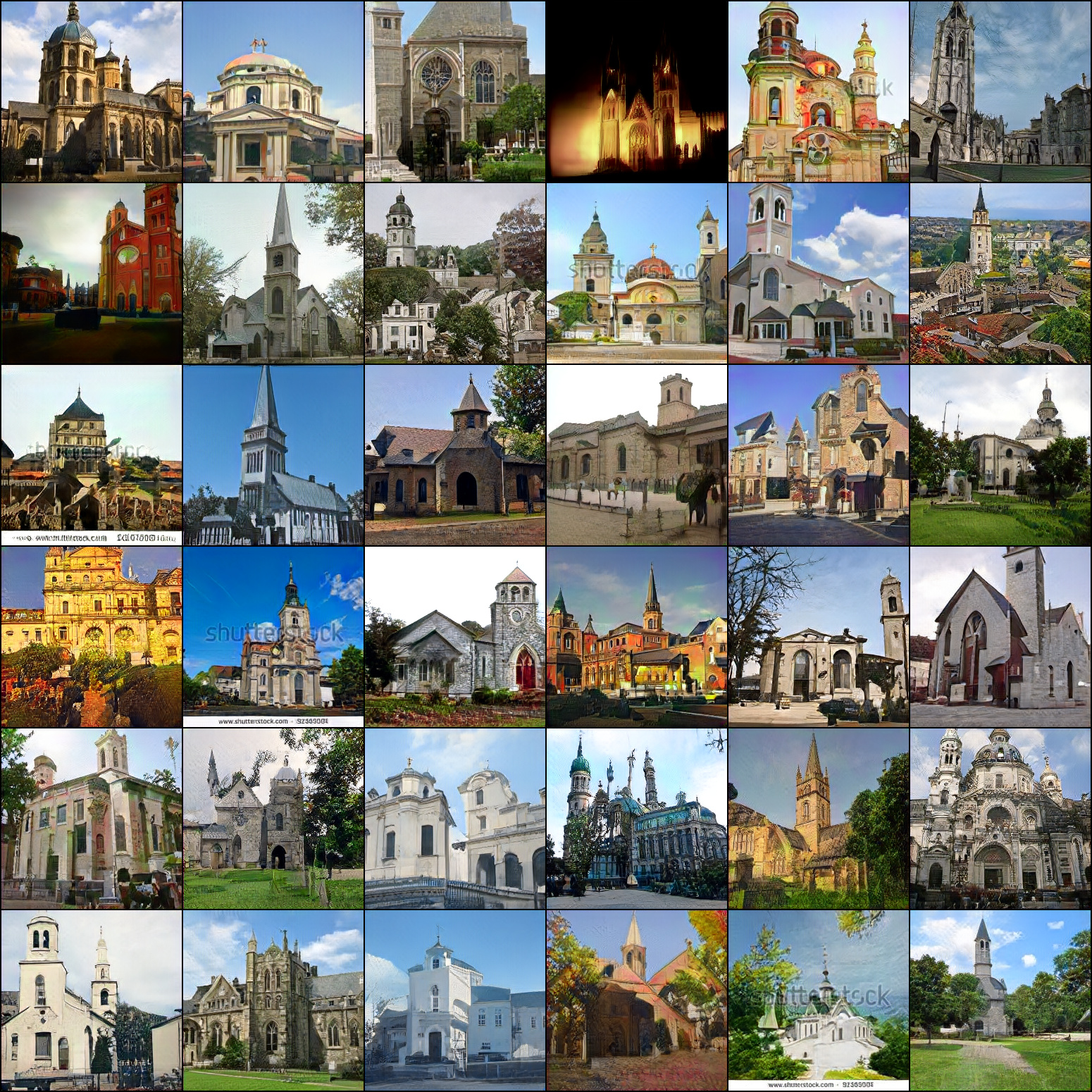 LSUN Churches