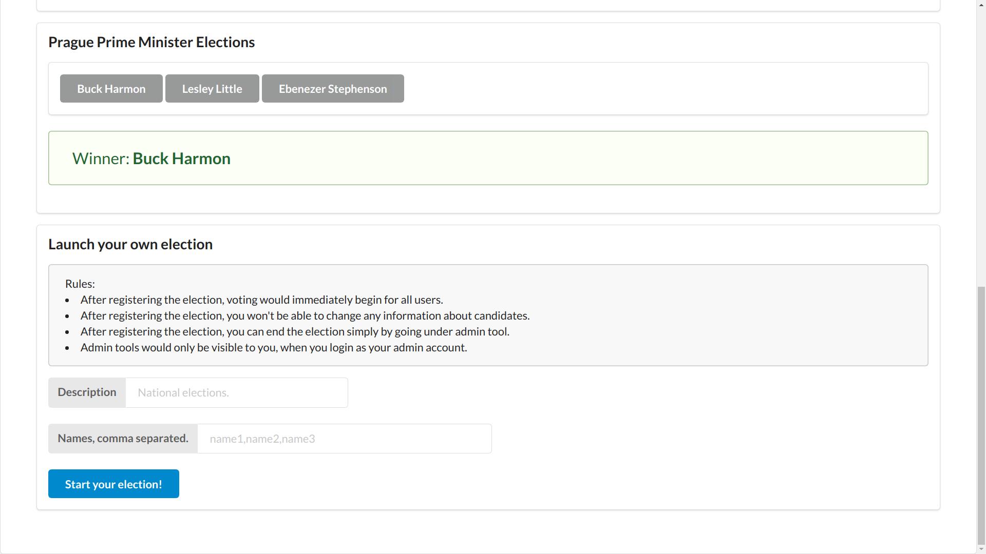 Safe Elections: A tamper free election service based on Ethereum - 安全选举:基于<a href=