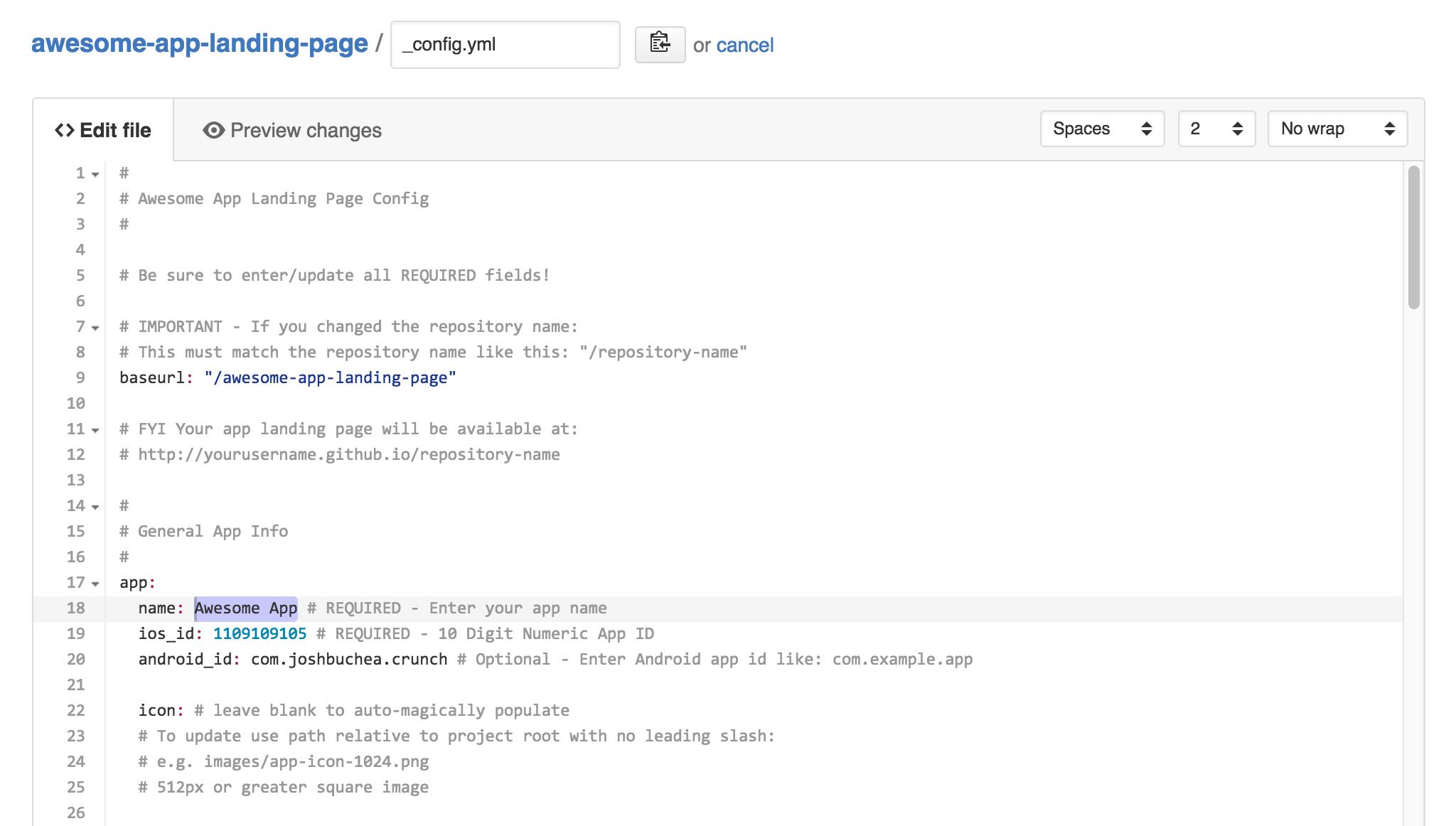 Awesome App Landing Page - 很棒的应用程序登录页