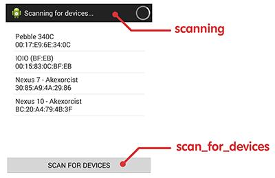Custom Device List Text