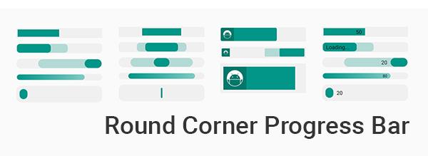 Round Corner Progress Bar Sample