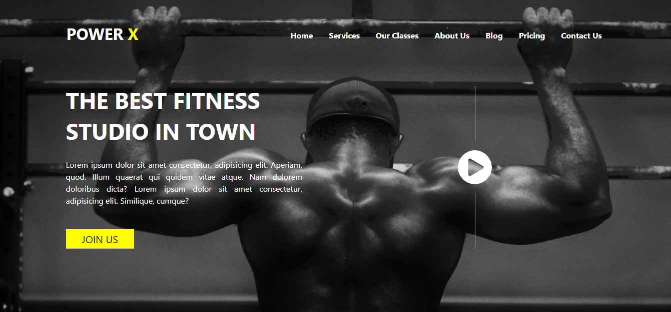 power x gym website