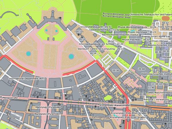 screenshot of Karlsruhe