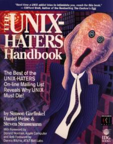 Unix haters handbook