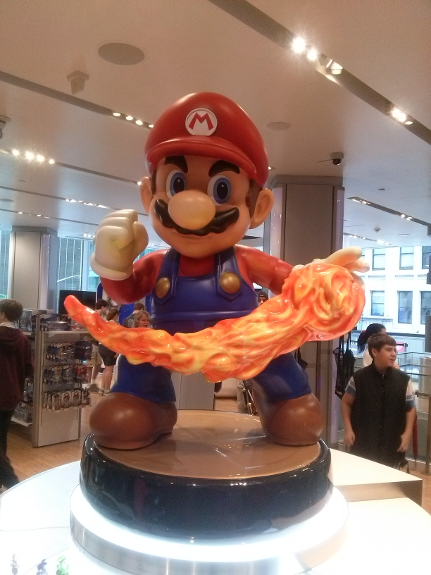 Nintendo World Store.