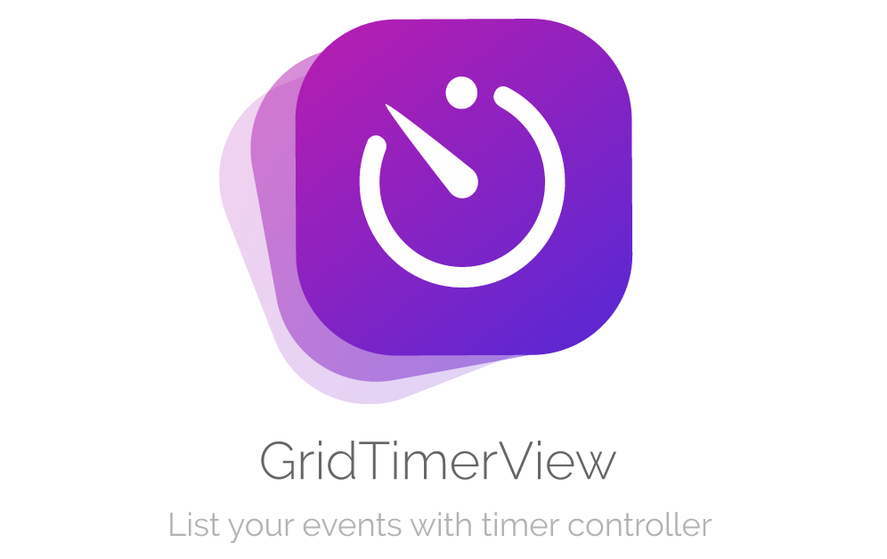 GridTimerView logo