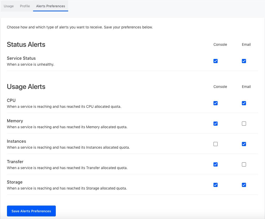 alerts-preferences-page
