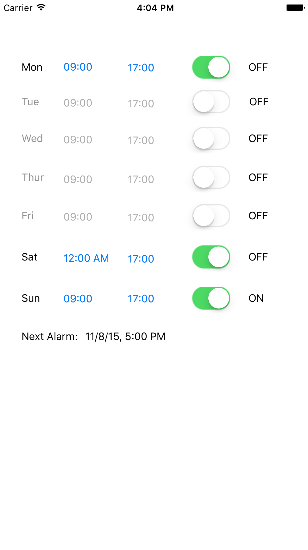 GitHub - alberto234/schedule-alarm-manager: Android and iOS library