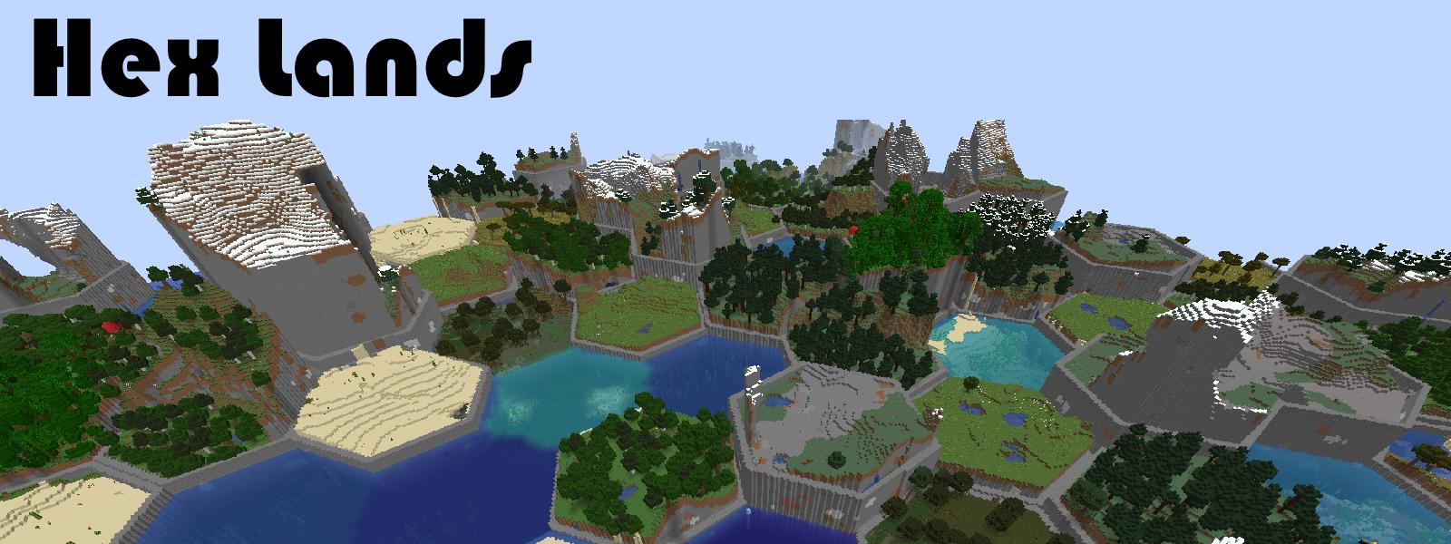 Hex Lands Splash Image
