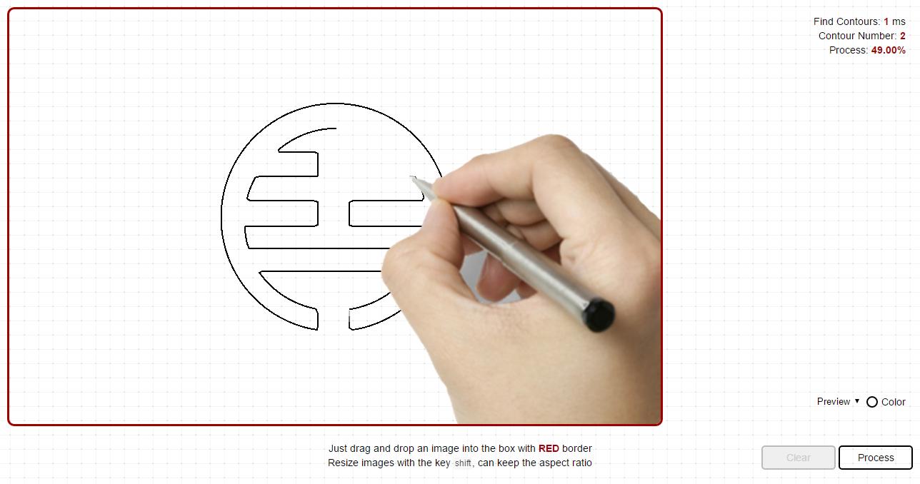 draw in javascript