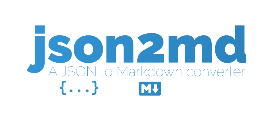 How to convert JSON to Markdown · Aleen