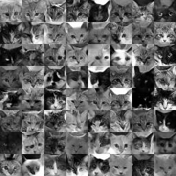 64 grayscale images rated as good