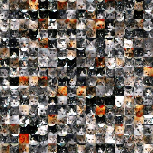 256 random color images