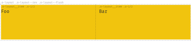 Example of o-layout options