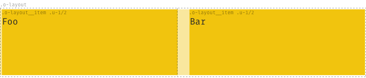 Example of o-layout