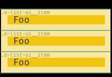 Example of o-list-ui options