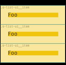 Example of o-list-ui