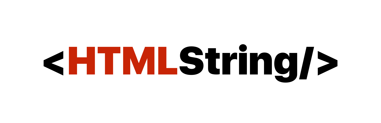 HTMLString