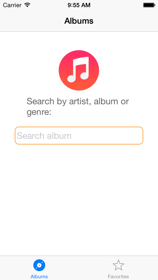 iTunes Catalog Search image 1
