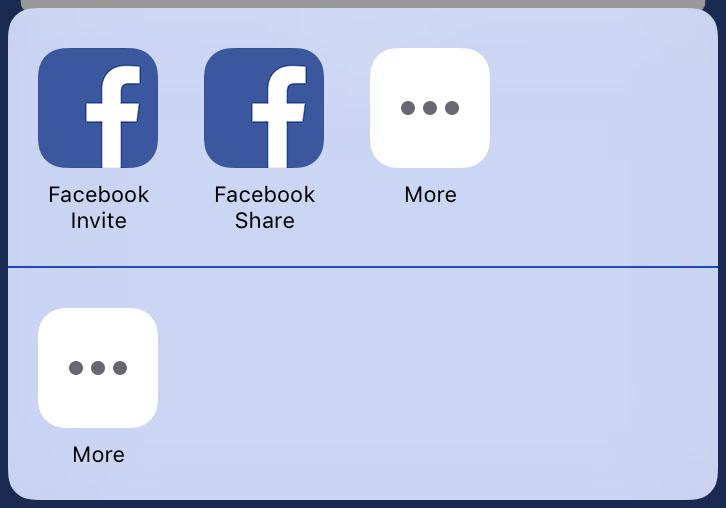 ARFacebookShareKitActivity Screenshot 4
